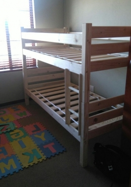 New pine bunkbed for sale
