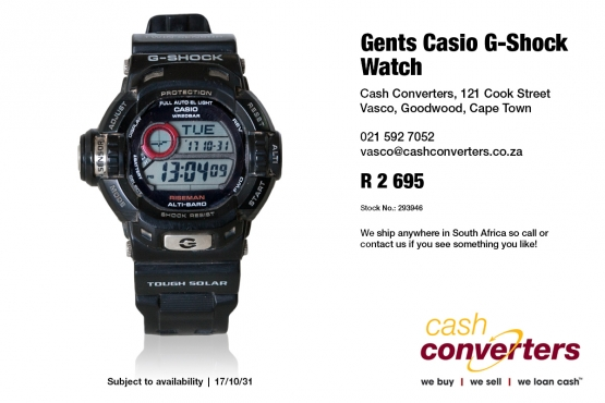 Gents Casio G-Shock Watch