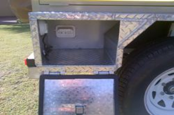 Camping trailer hire