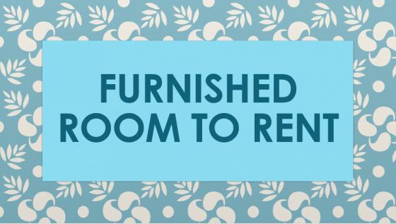 Sunnyside furnished room to Let