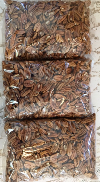 Fresh Raw Pecan Halves Shelled
