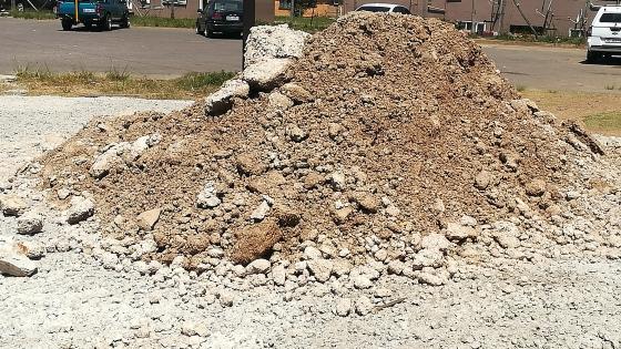 Clean rubble
