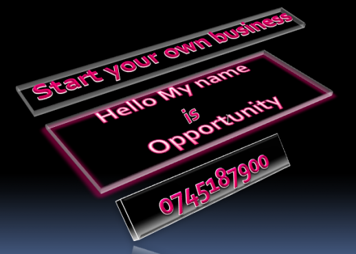 Business opportunity, start your own business