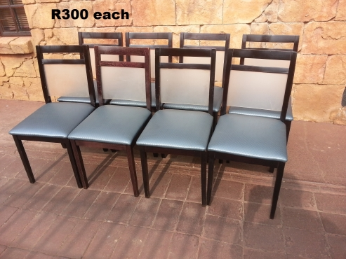 Teak Classic Dining Chairs (EACH)