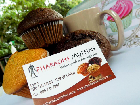 Pharaohs frozen muffin/cupcake mix.  We deliver!