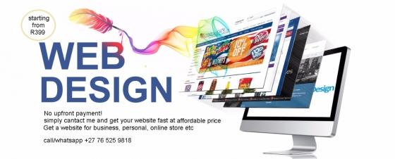 We design websites,company rofile,company branding, logo, business cards
