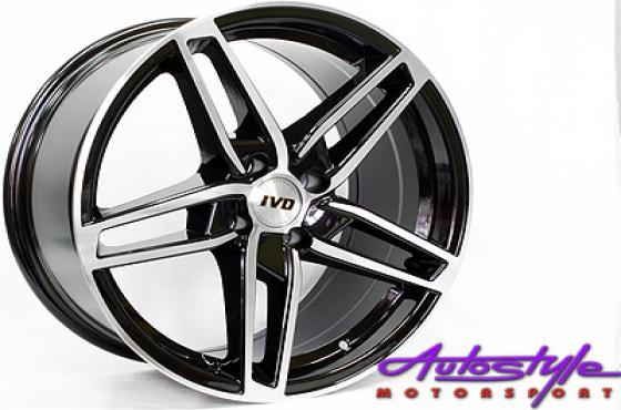 17 BK820 4/100 Alloy Wheels