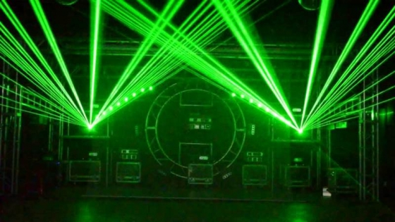 Laser Lights & Smoke Machine (FOR HIRE)