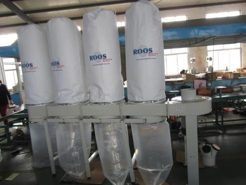 Dust Extraction Unit, ROOSMAC, FM470, 4-bag, 5.5 kW