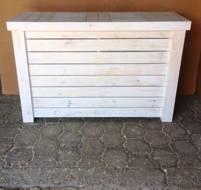 Reception Counter Farmhouse series 1600 White washed