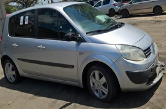 Renault Scenic seats