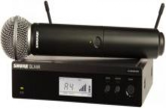 SHURE sm58 wireless + blx2 / k3e  LIKE NEW
