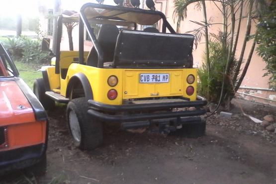 Fiberglass Jeep Junk Mail