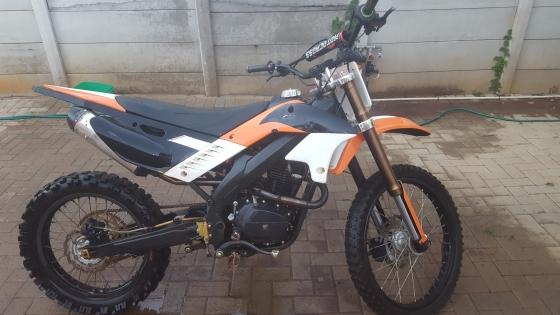 Two 250cc dirtbikes