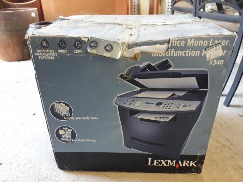 Lexmark laser printer X340