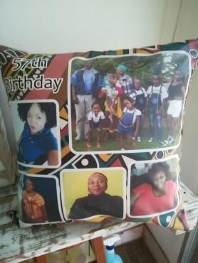 decorative photo art cushions 50x50cm