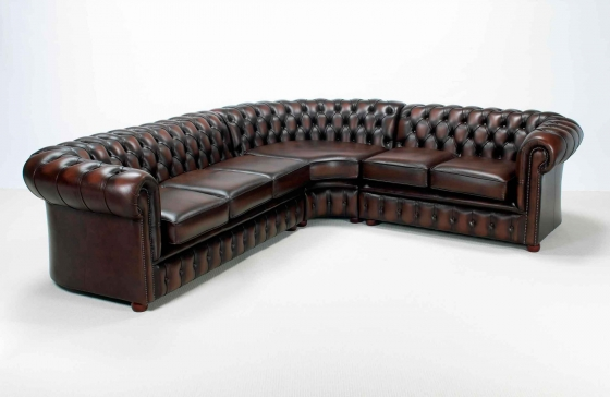 CHESTERFIELD CORNER COUCH (LARGE)