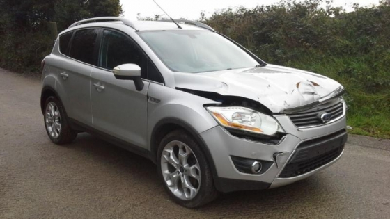 Ford Kuga seats for