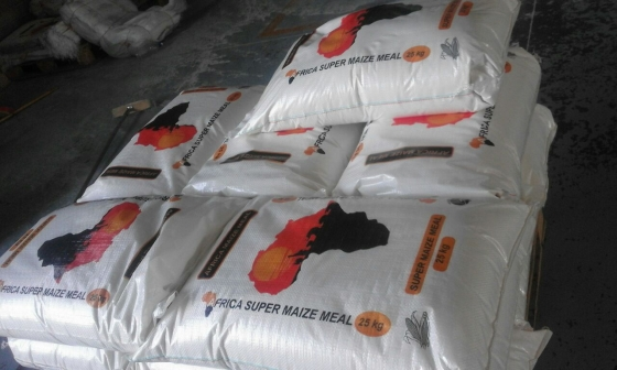 We produce Super white Maize Meal and also Mill for you - Supply your own Maize !