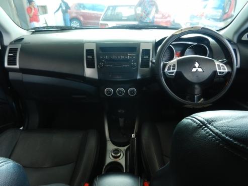 2007 mitsubishi outlander 2.4 suv manual transmission roof top