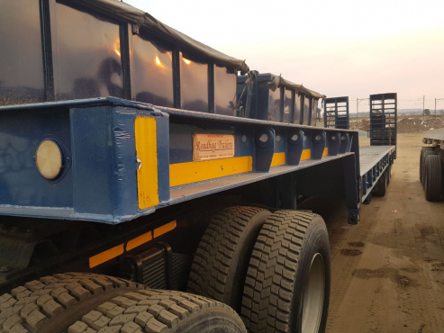 Not to be missed! 2007 Roadhog tri axle stepdeck trailer.