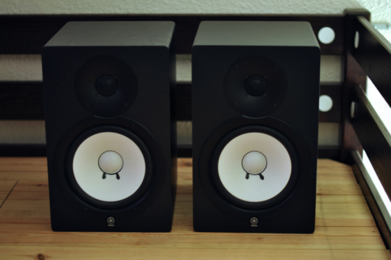 Yamaha HS80M studio monitors ** MINT **