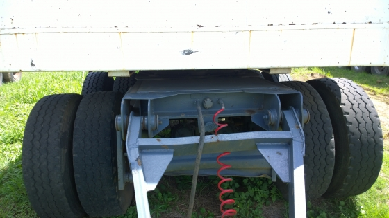 Great Buy! 2005 4 Axle 10m flatdeck drawbar trailer!