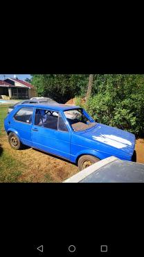 VW golf 1 two door for sale.