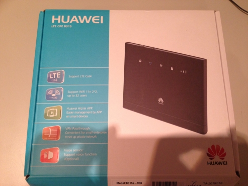 Brand new Huawei LTE CPE B315 for sale -R1300