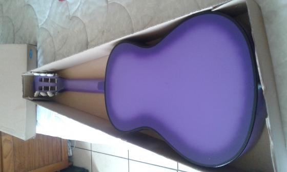 a ringo guitar purple 2 months old