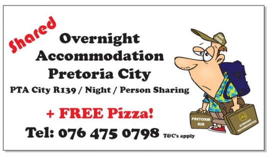 Overnight accommodation for travelers