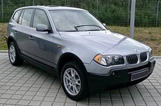 BROKEN BMW X3 transfer case