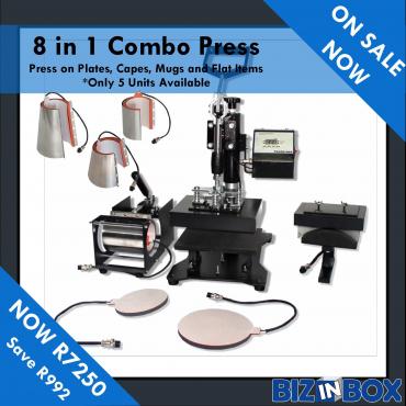 On sale now 8in1 heat press