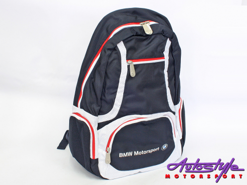 BMW Motorsports Active 15-inch Laptop Backpack
