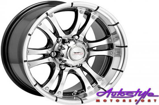 15 A-Line Fear 6/139 Alloy Wheels