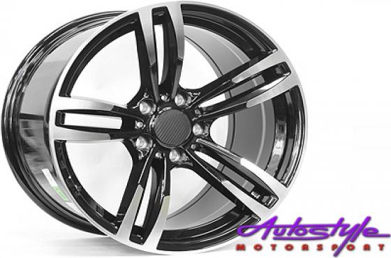 18 BK51673 5/120 Narrow & Wide Alloy Wheels