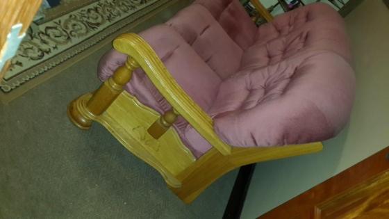 Large Solid Oak lounge suite for sale