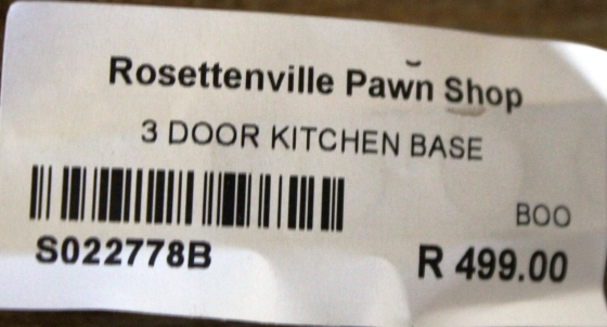 3 Door Kithen Base S022778B #Rosettenvillepawnshop