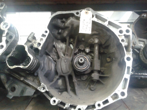 Toyota  Yaris 3 Cylinder - 1KR Manual Gearbox
