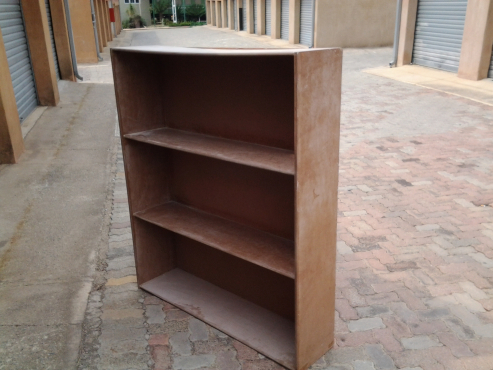 Book Shelves - Unvarnished
