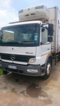 2005 Mercedes Atego 8 Tonne fridge truck with very low mileage