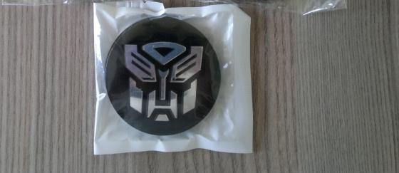Transformers Autobot Wheel Badge