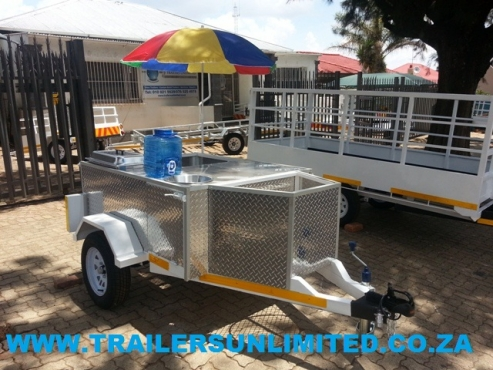 TRAILERS UNLIMITED UTILITY CATERING UNIT.