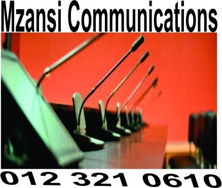 Interpreting equipment services