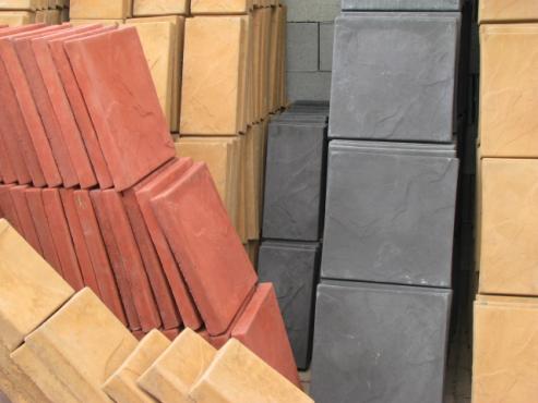 Paving slabs,vib slabs + poles, pool coping, maxies ,BLOCKS 190 +140 + 90 ETC