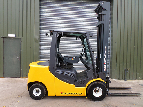 JUNGHEINRICH 1,6 TON ELECTRIC FORKLIFT FOR SALE!