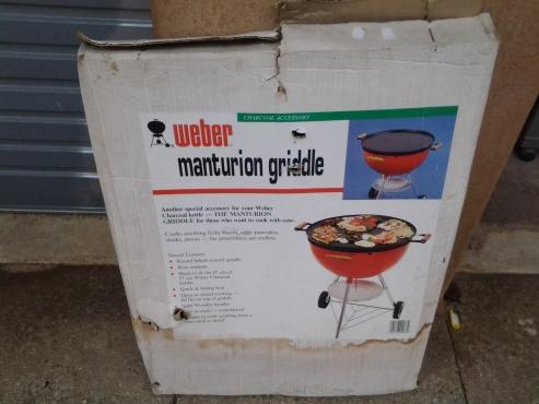 Weber Manchurian Grill