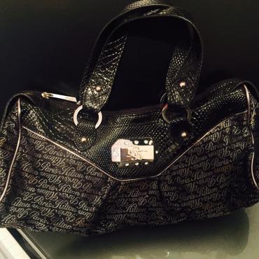 Stunning genuine Paris hilton handbag