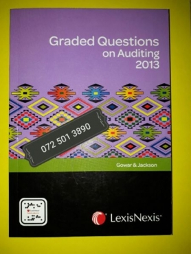 Graded Questions On Auditing 2013 - Gowar & Jackson.