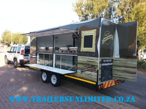MOBILE KITCHEN TU TRAILERS.